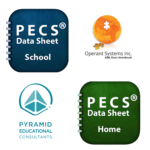 NEW APPS: PECS Data Sheet-Home & PECS Data Sheet-School