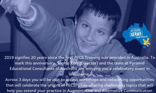 Celebrating 20 Years of PECS in Australia