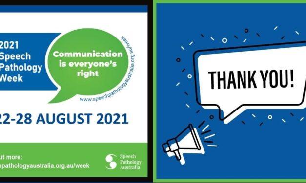 Speech Pathology Week 2021: Celebrate a Speechie You Know!